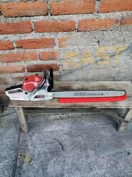 Motosierra pequeña potente ms381 nueva a toda prueba sur de Quito solo personas interesadas