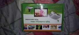 conversor de RCA A VGA (Para conectar tu dvd a monitor de pc)