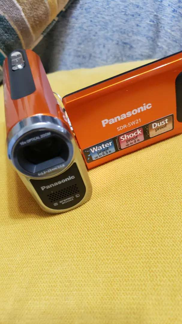 Vendo cámara panasonic SDR-SW21 0
