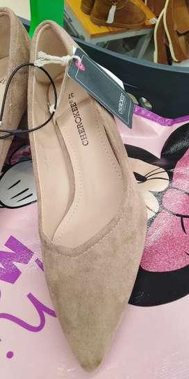 Zapatos de gamuza t 37