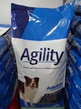 Agility criadores adulto perros x 20 kgs