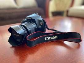 Cámara fotografica CANON T5 con lente 18-55 mm. + Lente CANON 55mm. f/1.8