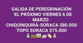 PRÓXIMA SALIDA PARA SORACA VIERNES 6 DE MARZO