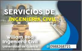 Ingeniero Civil. Diseño Hidrosanitario. Levantamientos Topográficos.