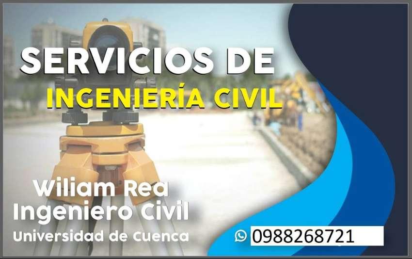Ingeniero Civil. Diseño Hidrosanitario. Levantamientos Topográficos. 0