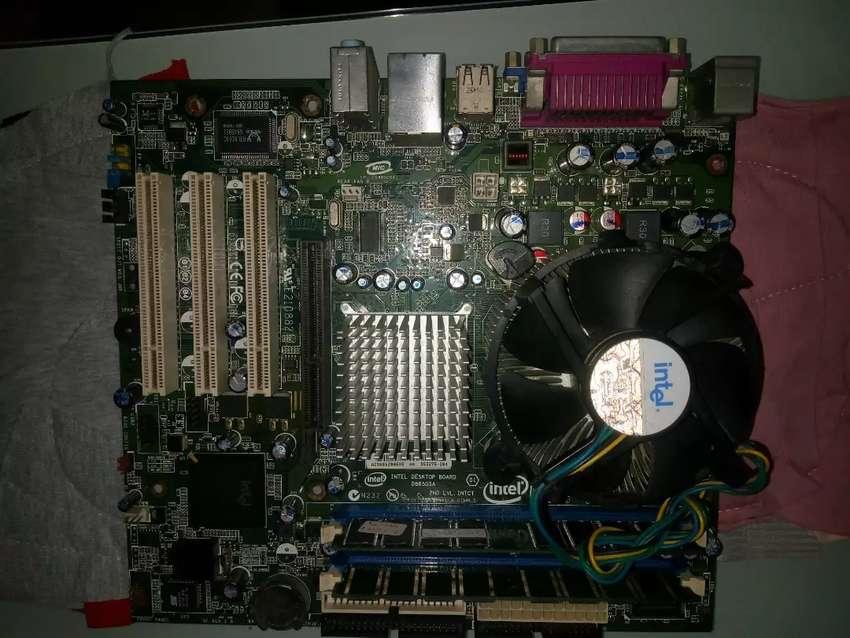 Combo Board Ddr1, procesador y memoria 0