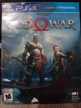 Se vende God of war PS4