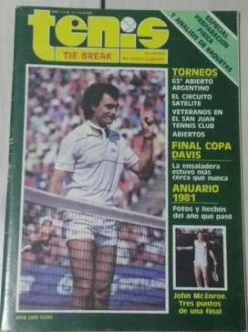 Revista Tenis Tie Break Año I Num.11 J.L.Clerc