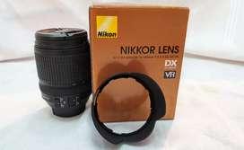 Lente Nikon Af-s Dx 18 - 140 Mm