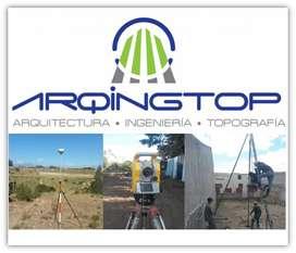 Levantamientos topográficos georeferenciados y Estudios de Mecánica de Suelos