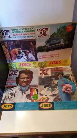COCHE A LA VISTA revistas (lote x 4) 1974-L.E.SOJIT
