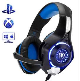 Audifonos gamer para PS4 Xbox One PC Mac