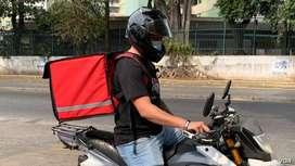Motorizado para delivery - Turno flexible
