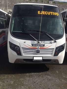 Buseta NKR pasajeros