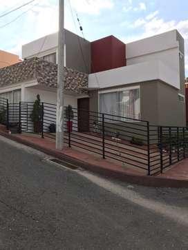 Se Vende Hermosa Casa Ubicada en Chachagui, Totalmente Amoblada