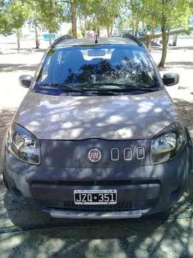 Vendo Fiat uno way 2011