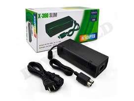 Fuente Poder Xbox 360 Slim Adaptador Pared 110 Vac 220 Vac