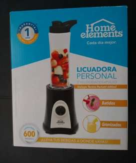 Licuadora personal Home elements