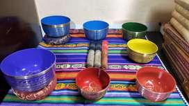 Juego de Siete Cuencos Tibetanos