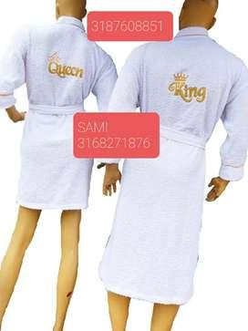Salidas de baño en toalla Duo Hombre- Mujer