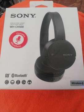 Audífonos Sony Wh-ch500 Negro Y Plomo