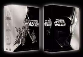 DVD Box Set de la trilogia original de Star wars, episodio IV, V y VI.