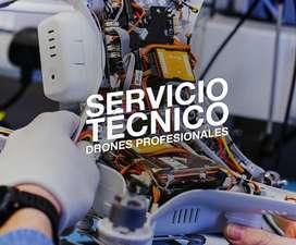 Servicio Técnico Drones DJI y Similares, Reparación y Repuestos