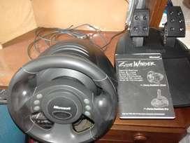 Volante Microsoft SideWinder Precision Racing Wheel