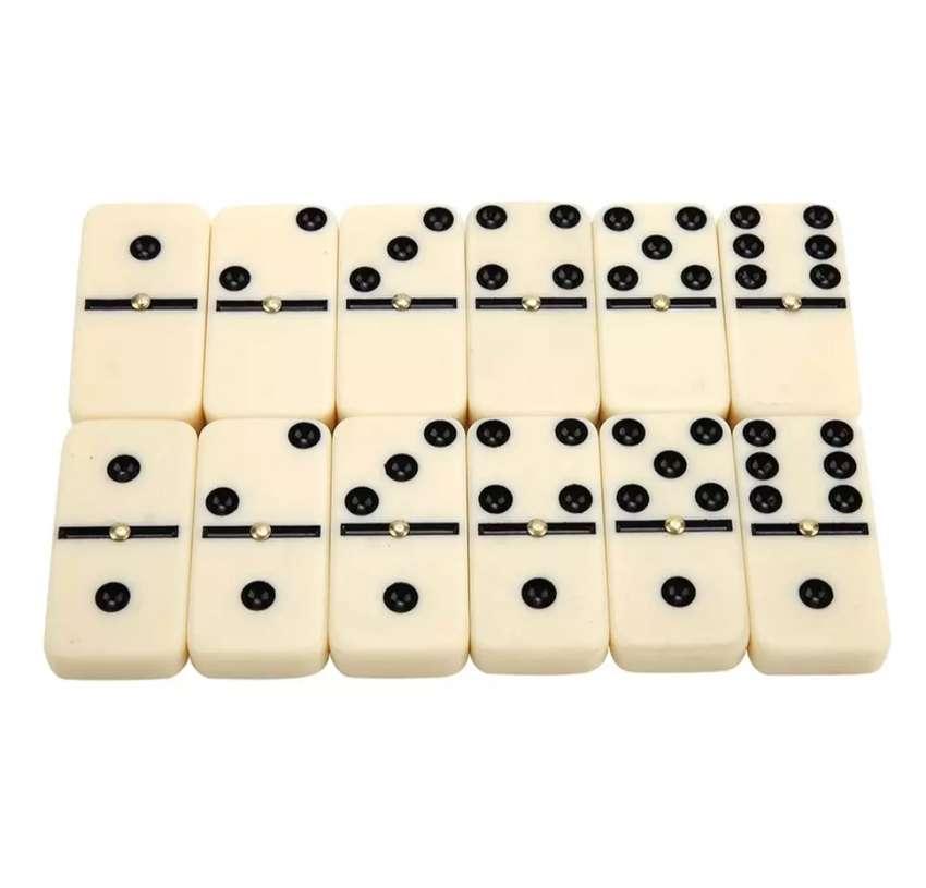 Domino tradicional de cenas de porcelana 28 fichas