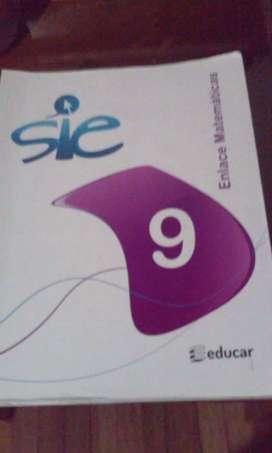 Libro de Enlace Matemáticas grado noveno de editorial Educar