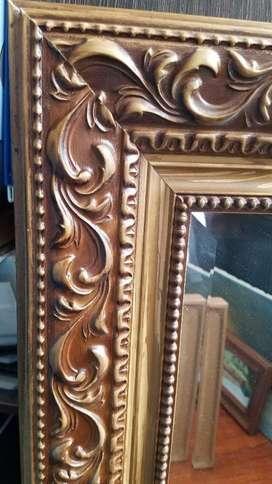 Vendo Permuto Espejo Cristal Alta Calidad Biselado 82x112 Cm