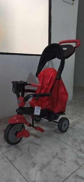 Coche Smar Trike Rojo
