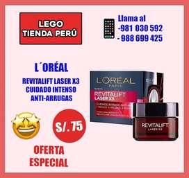 Crema loreal paris original nuevo sellado