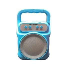 Parlante MS 1610 BT Bluetooth USB TF FM radio