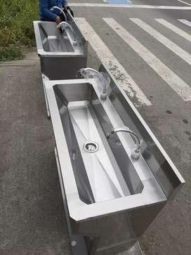 Venta de lavamanos sanitarios con doble pedal