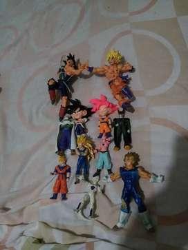 Vendo o cambio figuras de Dragon Ball Z