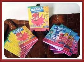 Invitación Infantil Libro Para Colorear