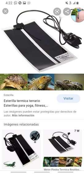Calentador de reptiles . 7watt 200v
