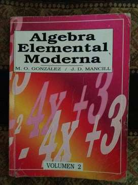 Algebra elemental moderna Vol.2