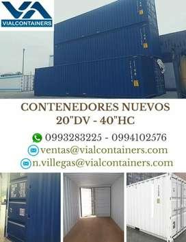 Contenedores Maritimos Nuevos Y Usasos
