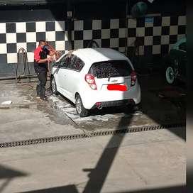 Lavador de autos.