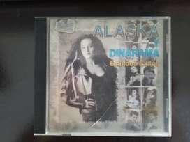 ALASKA y DINARAMA Grandes éxitos 1995 CD Musical ORIGINAL