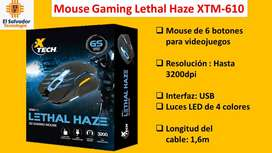 Mouse Gaming Lethal Haze XTM 610