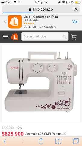 Se vende máquina de coser nueva