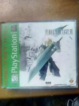 final fantasy 7 Ps1.,