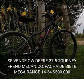 Gw Deere 27.5, Freno Mecánico,