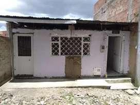 Casa-lote en venta