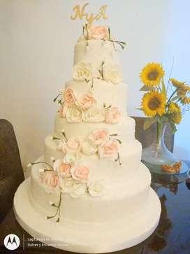 Torta de matrimonio cupcakes y mas
