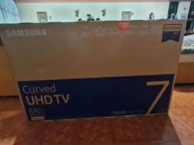 Smart tv Samsung 55 pulgadas curvo