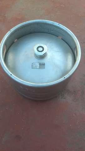 Barriles Cerveza. Tipo G. 20 litros